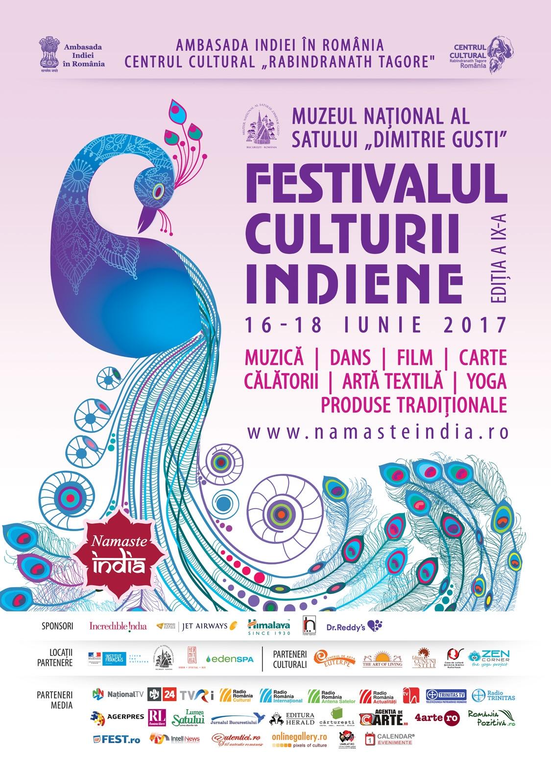 Festivalul Namaste India 2017 - Muzeul Satului