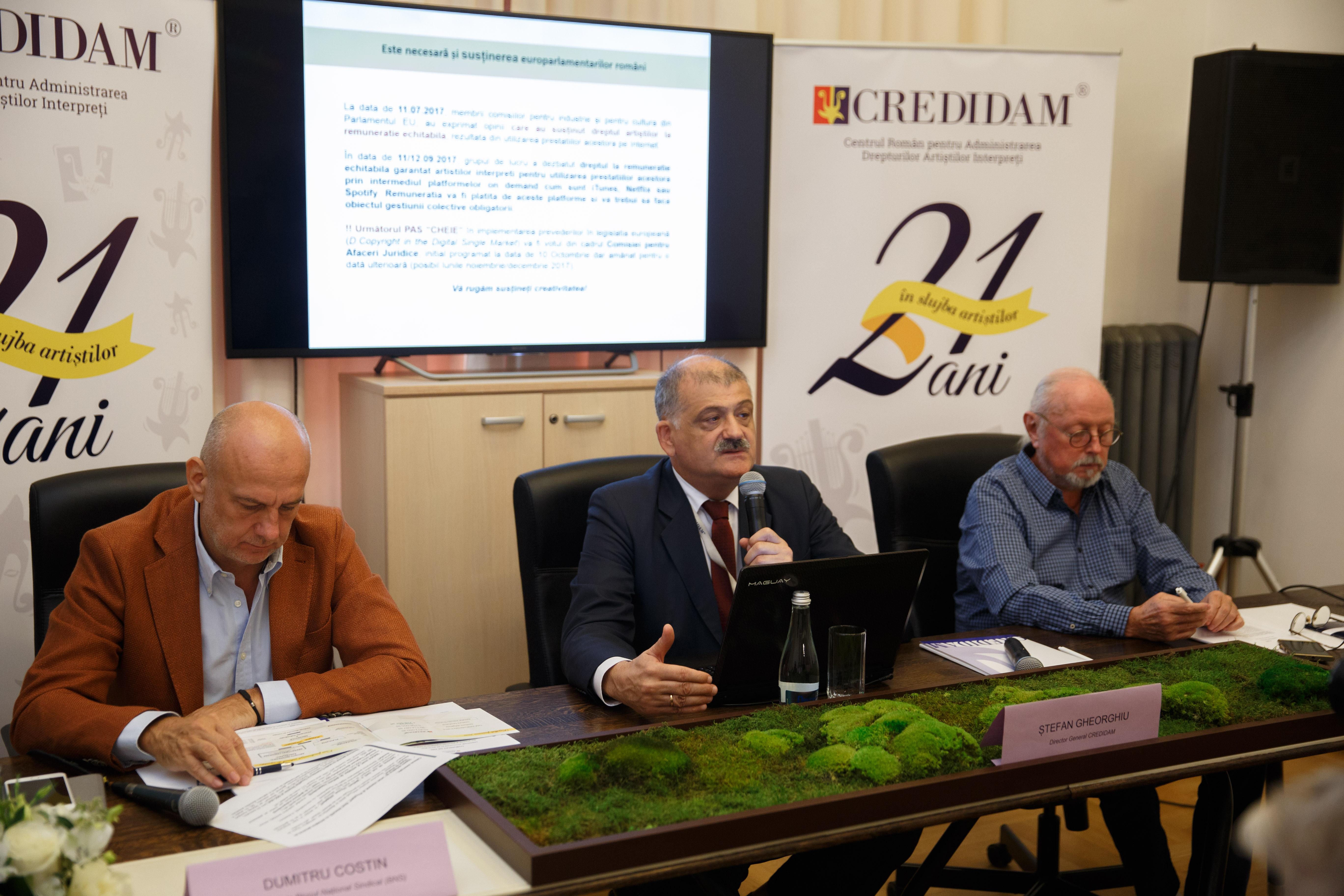 Dumitru Costin, Stefan Gheorghiu si Mihai Cernea