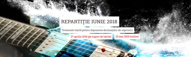 REPARTITIE IUNIE 2018