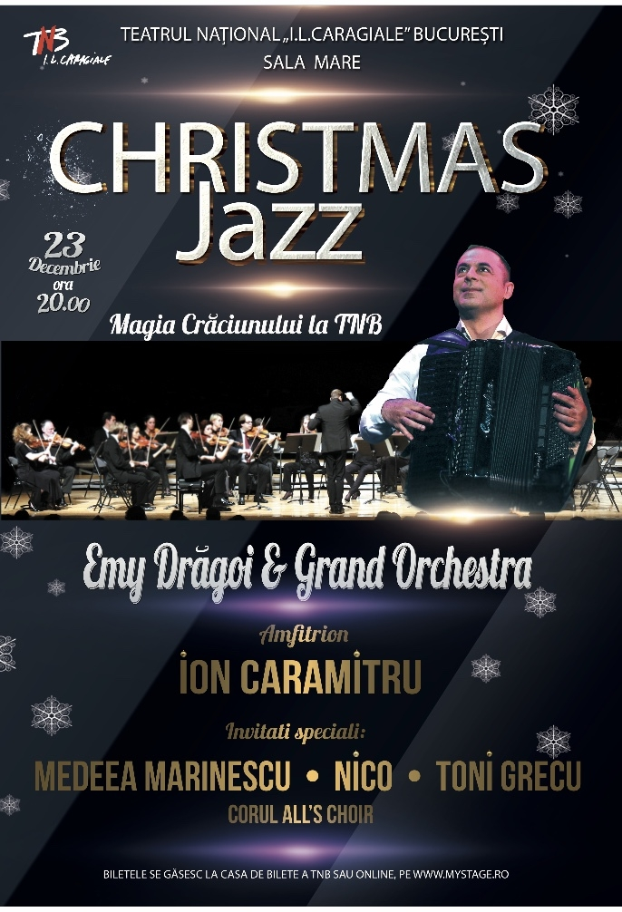 Afis. Christmas Jazz