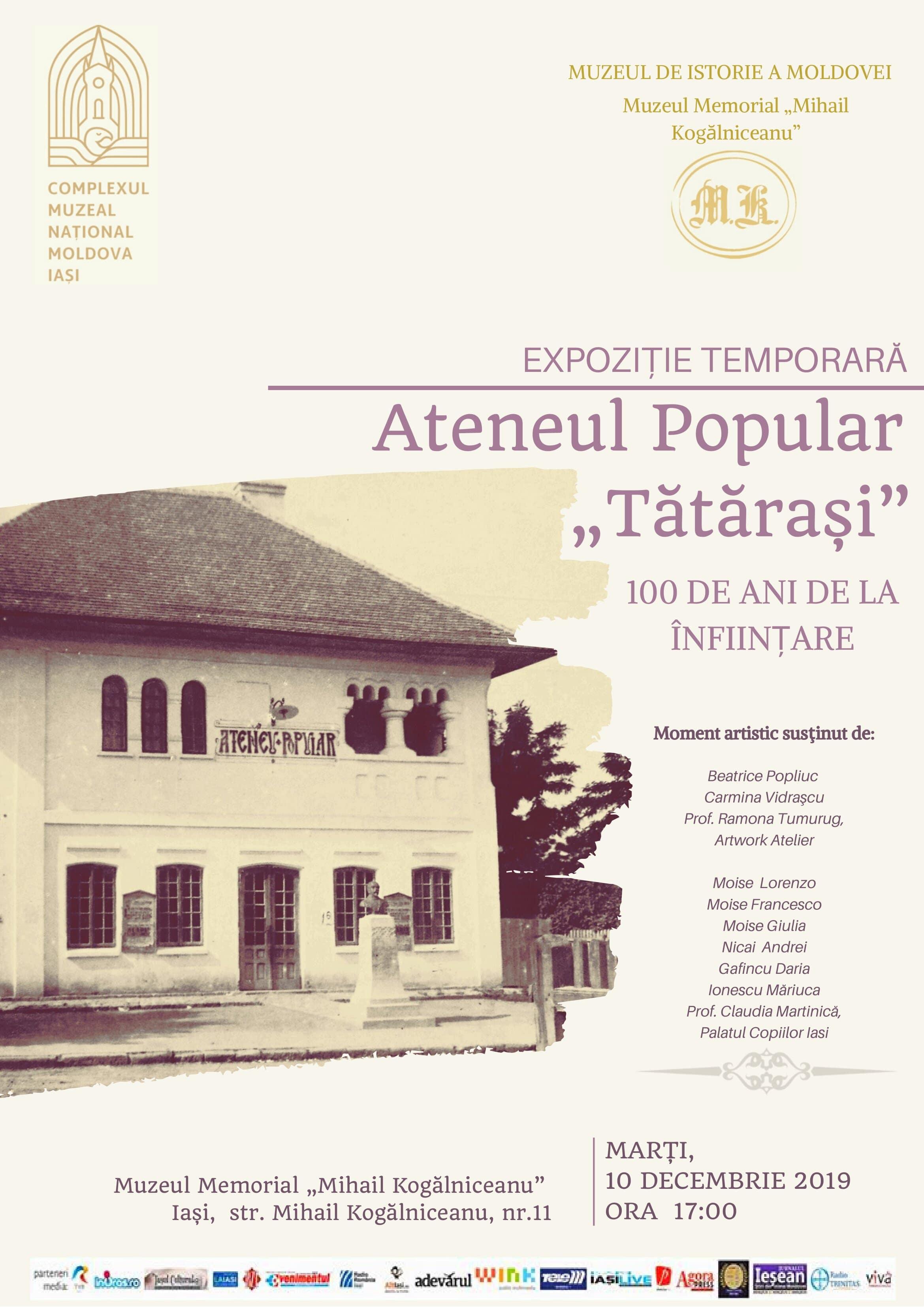 afis Kogalniceanu - Ateneul Popular_1